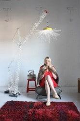 Kranlampe im Legostil von Charlie Davidson