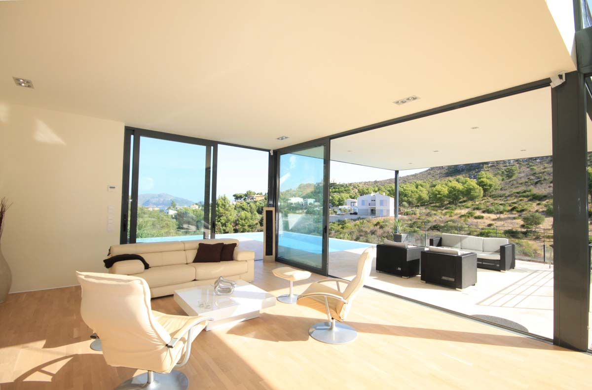 Villa in mallorca for Duta villa interior design