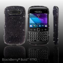Swarovski Cover für das BlackBerry 9790 von Crystal Rocked