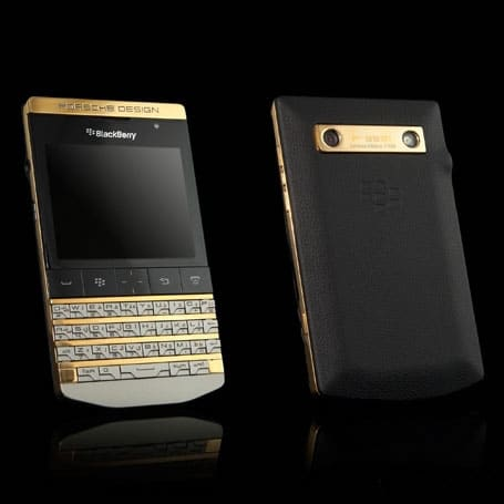 blackberry porsche design p 9981 gold those who