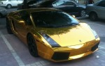 Lamborghini Gallardo in Gold aus China