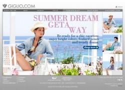 Giglio.com - Online-Shop eines italienischen Traditionsunternehmens