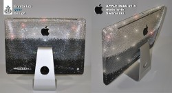 Apple iMac 21,5 Zoll made with 25.000 Swarovski Kristallen