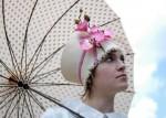 Kunstwerke am Kopf - exklusive Modellhüte von Daphne van der Grinten