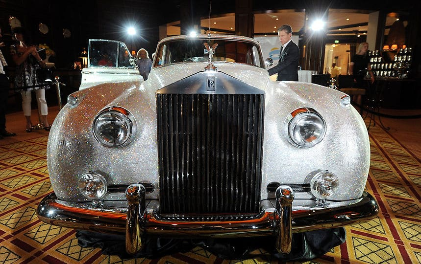 Rolls Royce Crystal Silver Cloud Ii Mit 1 Million