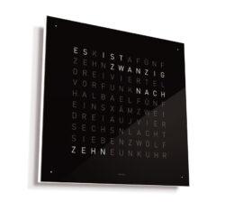 Biegert & Funk Qlocktwo Wand- und Standuhr