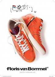 Floris van Bommel - Orange-Madness-Turnschuhe für die EM 2012