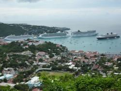 Auf dem Luxusschiff durch die Karibik