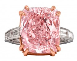 Majestic Pink Diamond Ring - Diamantring für über 6 Millionen Euro