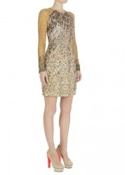 Matthew Williamson Camouflage Weave Embellished