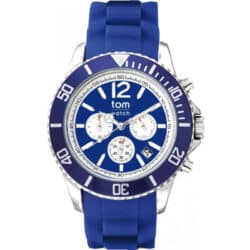 Tom Watch Chronograph navy blue WA00099