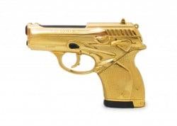 goldene Beretta zu James Bonds Jubiläum