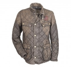 Barbour Mullholland Distressed Quilted Jacket - The Steve McQueen™ Collection