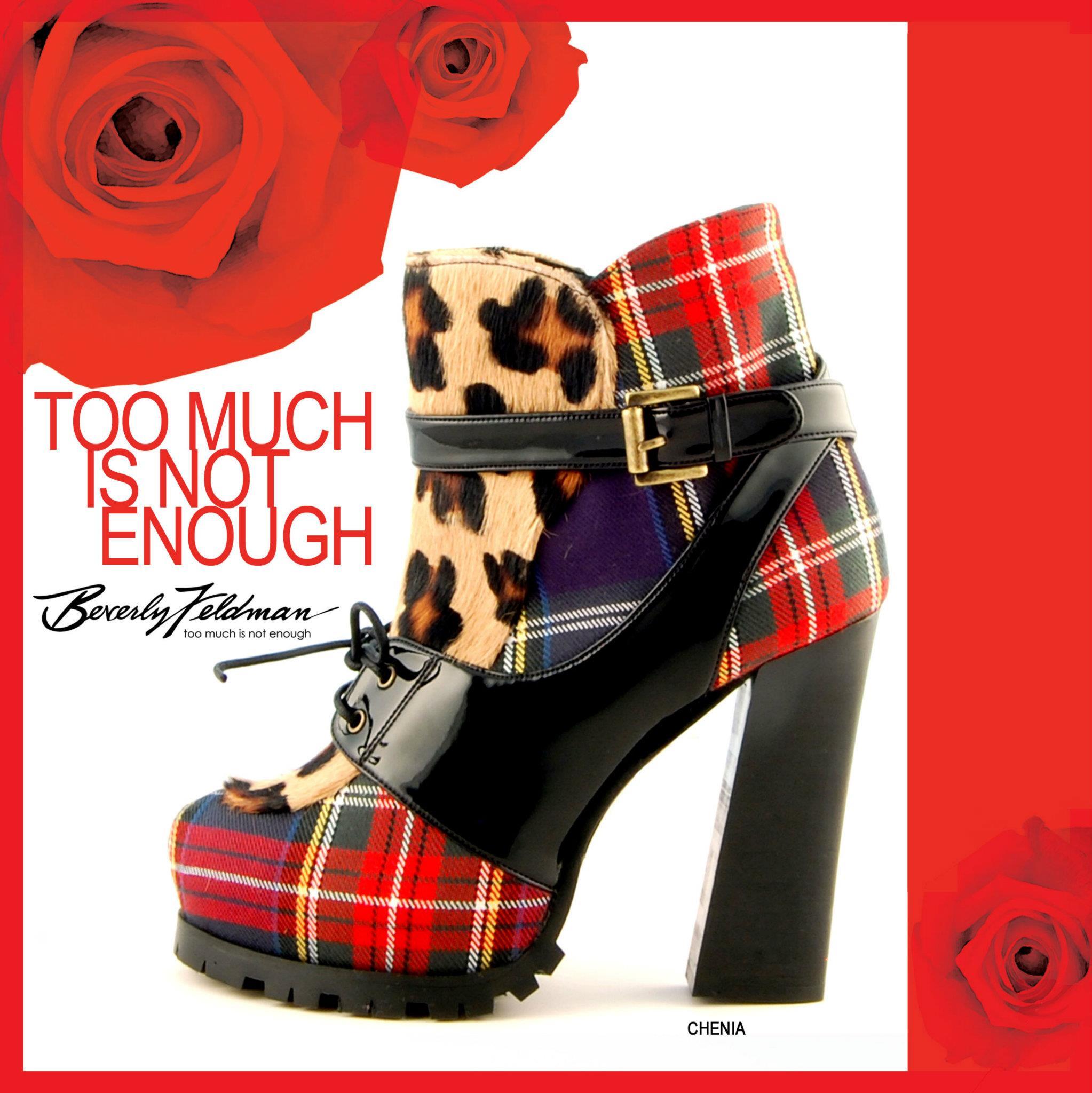 Beverly Feldman Shoes Zu viel ist nicht genug