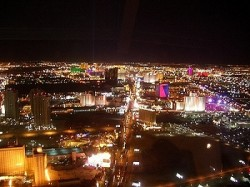 Las Vegas - Blick vom Stratosphere Tower (Quelle:flash-man.net)