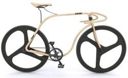 Thonet Bike aus Bugholz, aber ohne Bremsen