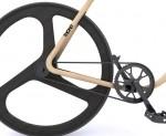 Thonet Bike aus Bugholz - ohne Bremsen
