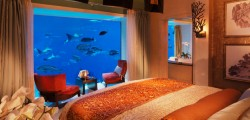 Unterwasser Suite im Hotel Atlantis, The Palm in Dubai