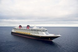 Das Kreuzfahrtschiff Disney Fantasy