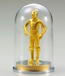 Vergoldete Star Wars Statuen - R2D2 und C-3PO