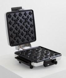 Waffeln im Louis Vuitton-Style