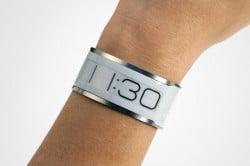 Die schmalste Uhr der Welt