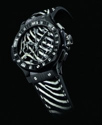 Der Ruf der Savanne: Hublot Big Bang Zebra Bang