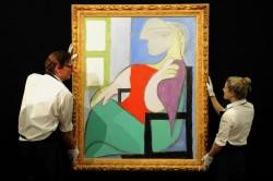 Picassos Sitzende Frau am Fenster für 33,1 Millionen Euro versteigert