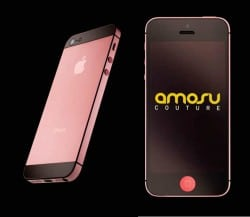 Amosu Couture iPhone 5 in Pink zum Valentinstag