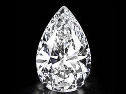 Einer der schönsten Diamanten der Welt