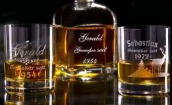 Persönliche Whiskygläser