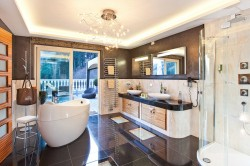 Hotel Meran Badezimmer Präsidentensuite