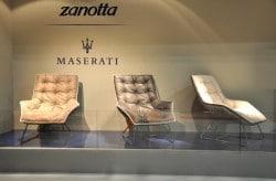 Möbel von der italienischen Automarke Maserati
