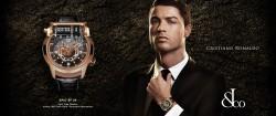 Cristiano Ronaldo präsentiert die neuen Uhrenkollektion von Jacob & Co.
