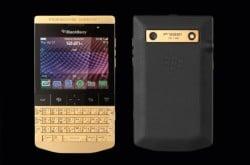 Porsche präsentiert einen Blackberry aus purem Gold - Porsche Design BlackBerry P9981