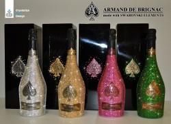 Armand de Brignac Champagner mit Swarovski Elements Kristallen