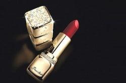 Lippenstift von Guerlain - Kiss Kiss Or & Diamonds