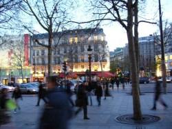 Shoppen auf der Champs-Élysées
