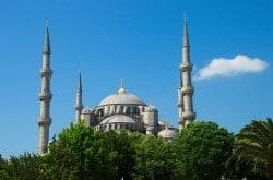Moschee in Istanbul - Luxusurlaub in der Türkei