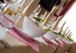 Traumhafte Hochzeitstafel: Mit edlem Porzellan und exquisiter Dekoration