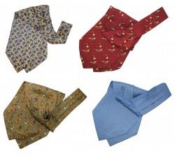 Krawattenschal - praktisches Accessoire und modisches Luxus-Highlight