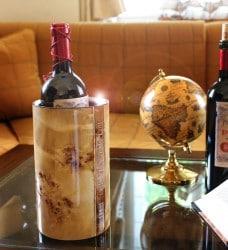eleganter Weinkühler österreichischer Handwerkskunst