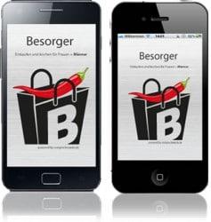 Besorger App – Einkaufen und Kochen für Männer und Frauen