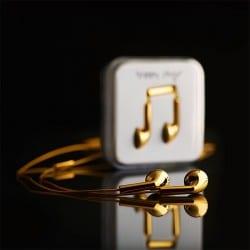 Happy Plugs vergoldet seine Kopfhörer