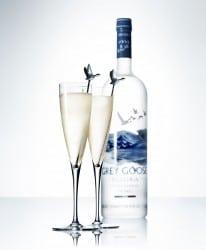 Le Fizz Cocktail mit Grey Goose