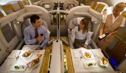 Pompös Reisen – Ein Flug in der ersten Klasse