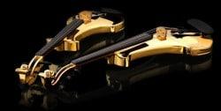 Die erste vergoldete Violine, mit Edelsteinen besetzt, für 2 Millionen Dollar