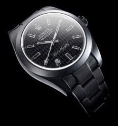 Rolex Milgauss Uhr inspired by Karl Lagerfeld