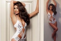 Miss Universe 2013 trägt eine Million Dollar Badeanzug