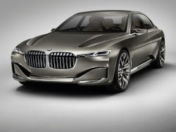 neueste Luxus Studie von BMW